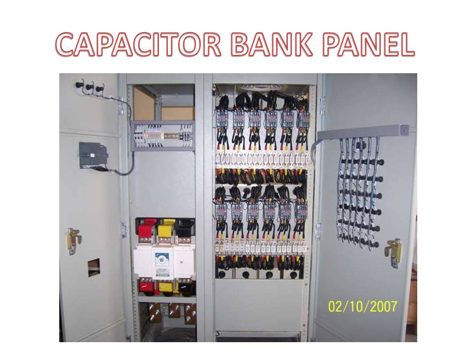 Capacitor Bank & Harmonic Filter Panel